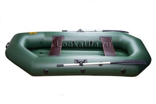 весельная лодка пвх с надувным дном