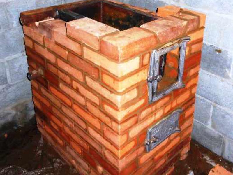 Как сделать печку для дров