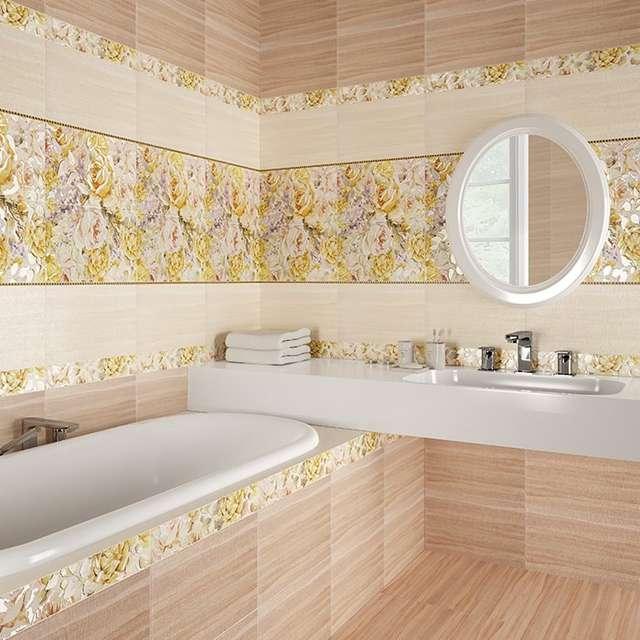 Дизайн ванной комнаты из шахтинской плитки
