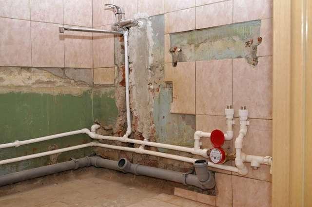 Разводка канализационных труб в ванной и туалете своими руками 152