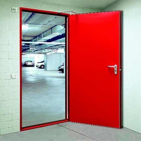 пожаробезопасные металлические двери