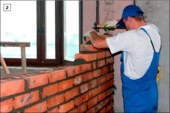 Кладка кирпичных стен своими рукам