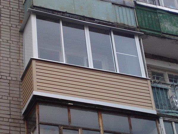 Разновидность рамм для балконов.