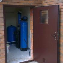 изготовление металлической технической двери