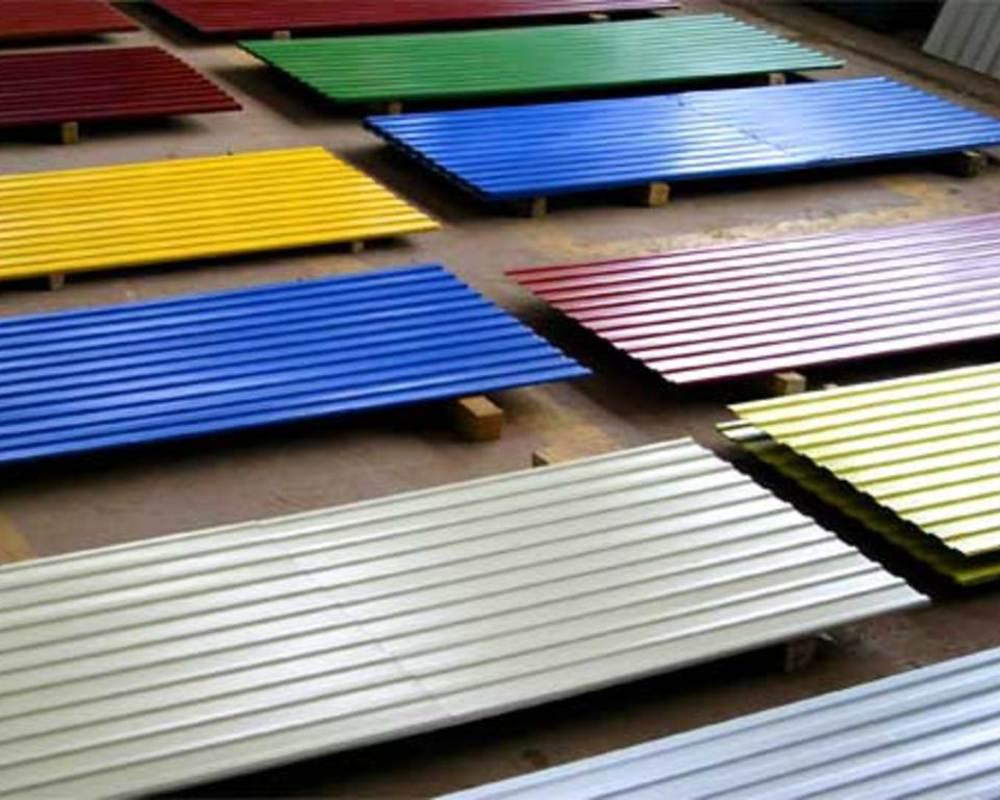 Профнастил для крыши цвета фото