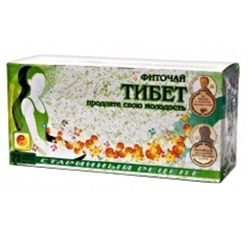 Тибетский чай для похудения пурпурный