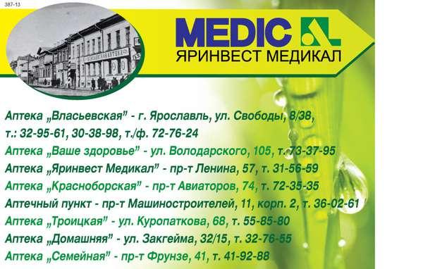 Медицинская справка аптек ярославль Гастроскопия Академический район