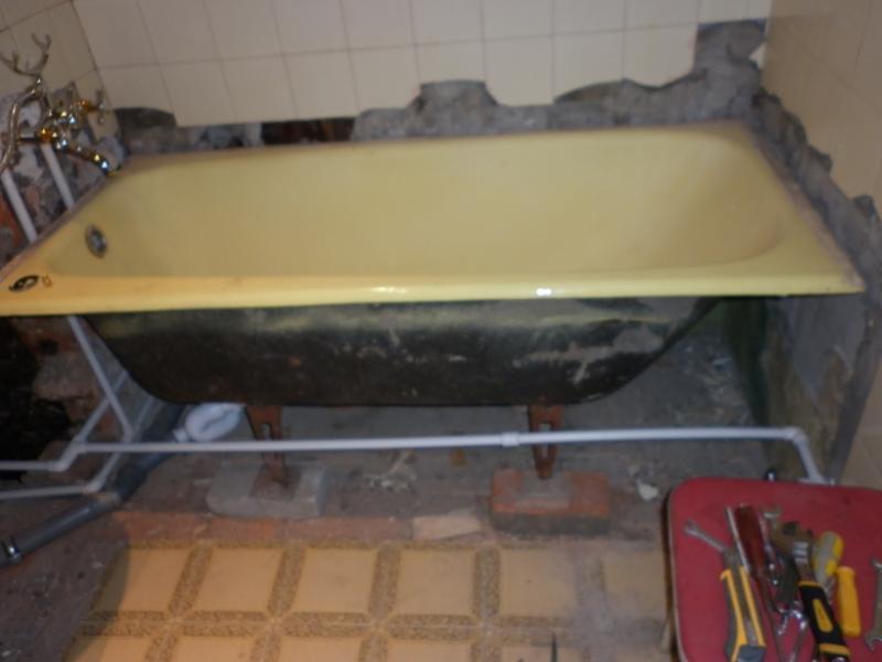 Подставка для чугунной ванны своими руками