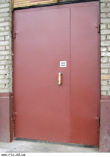 изготовление дверь подъездная металлическая