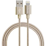 Дата-кабель Smarterra STR-AL002M 8-pin Apple Lightning MFI Gold